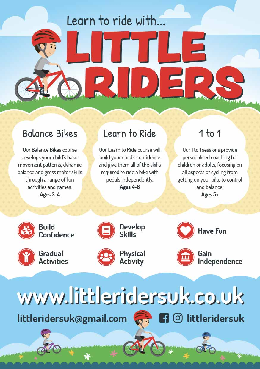 Little Riders Bike Lesson Flyers