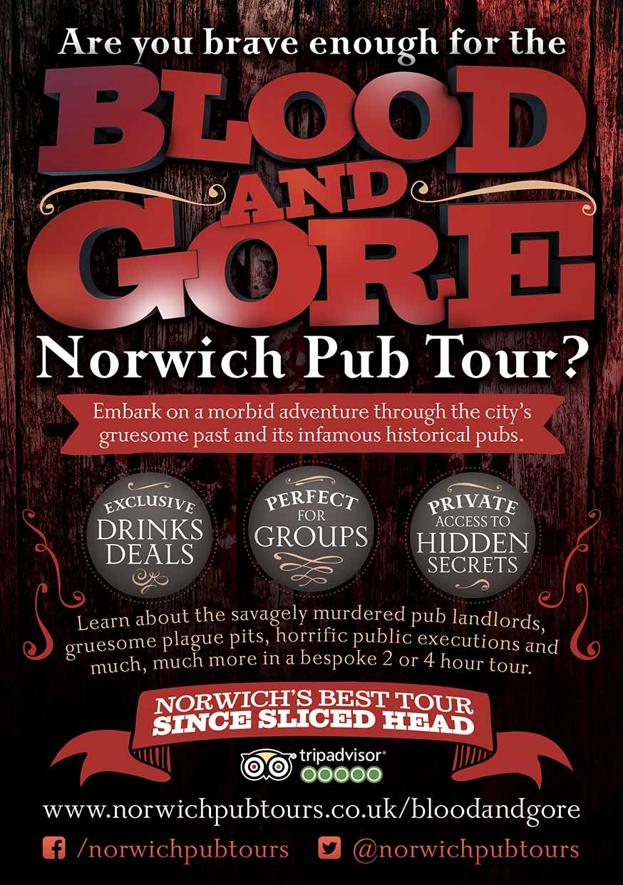 Horror Tour Flyers