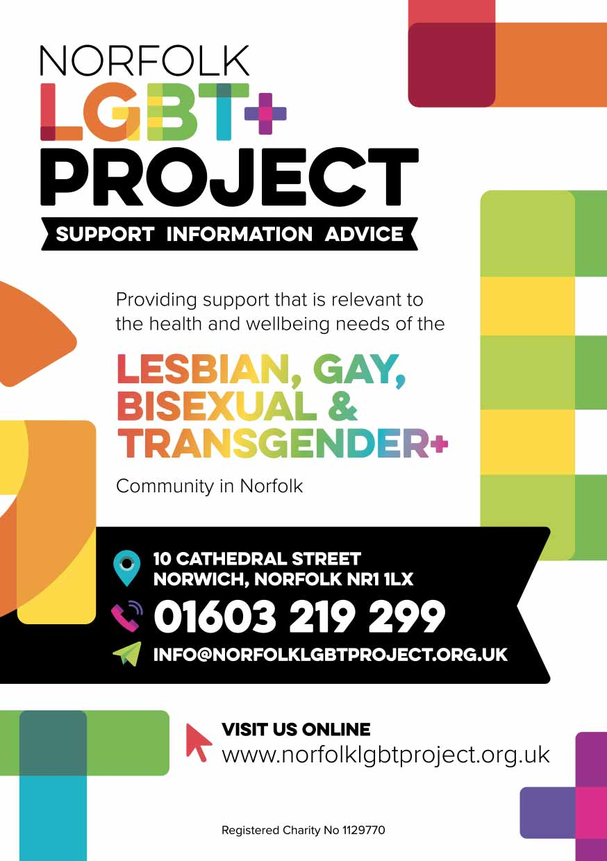 Norfolk LGBT Flyers