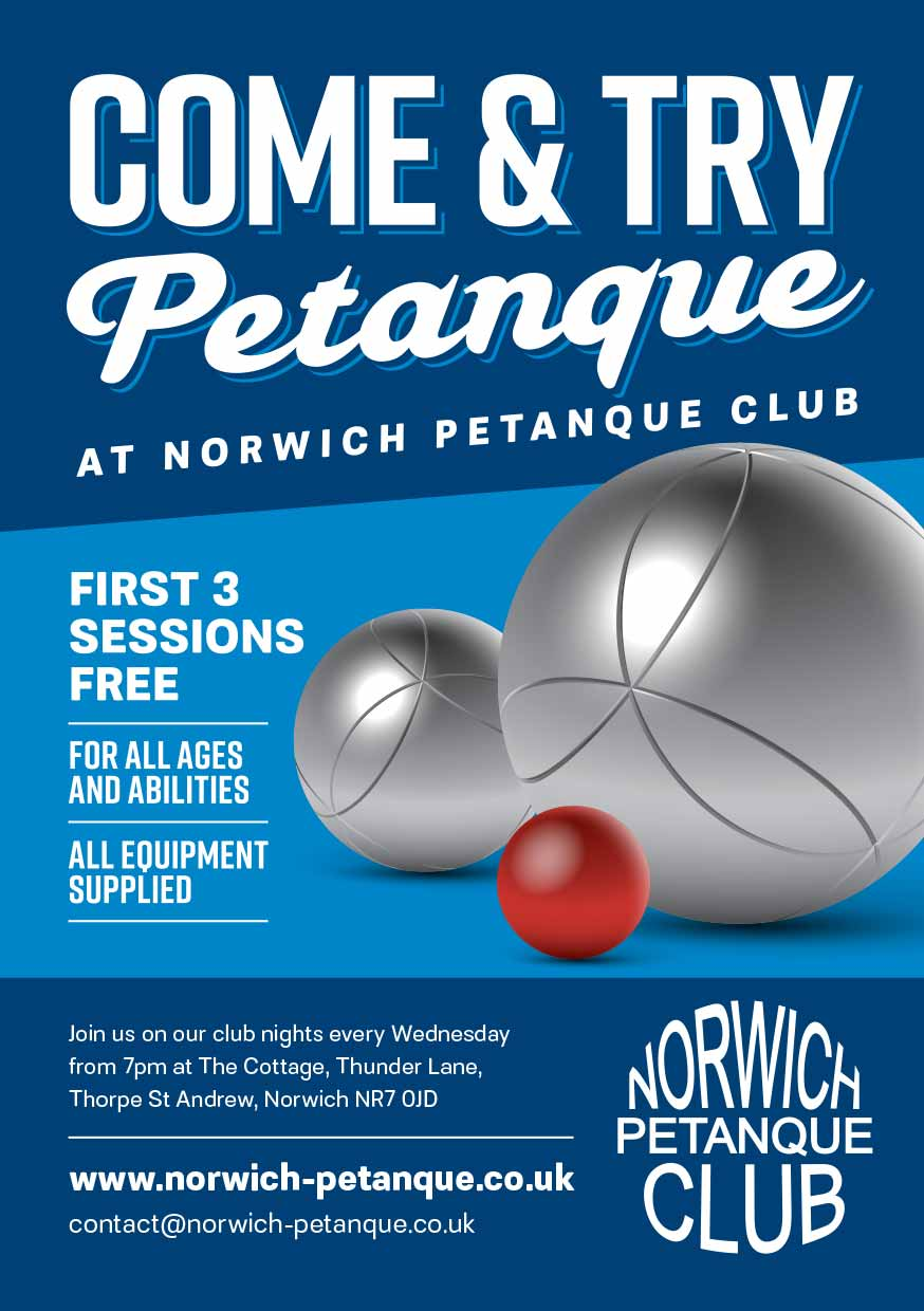 Try Petanque Flyers