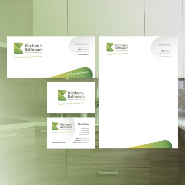 Kitchen Fitter Installer Stationery Design