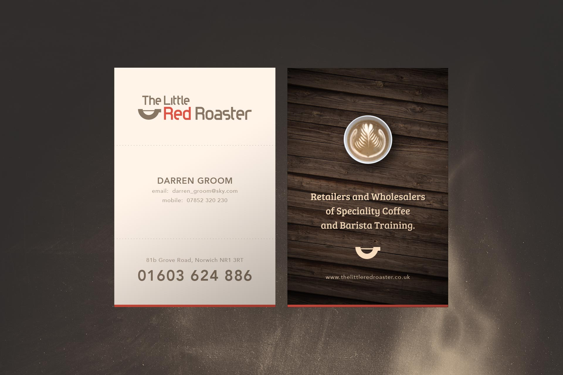 Business Cards - Graphic Design and Printing - Norwich Designer