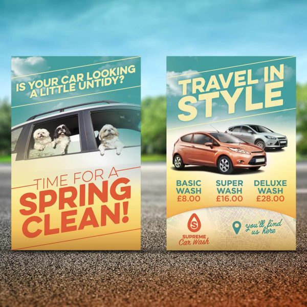 Car Wash Flyer Design