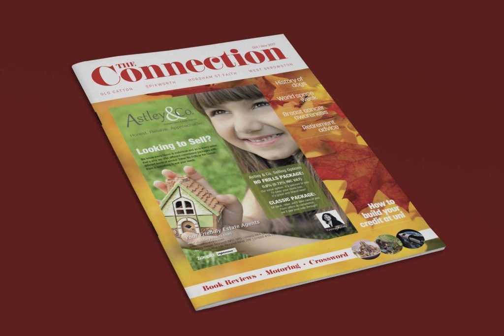 Annette Lake, The Connection Magazine
