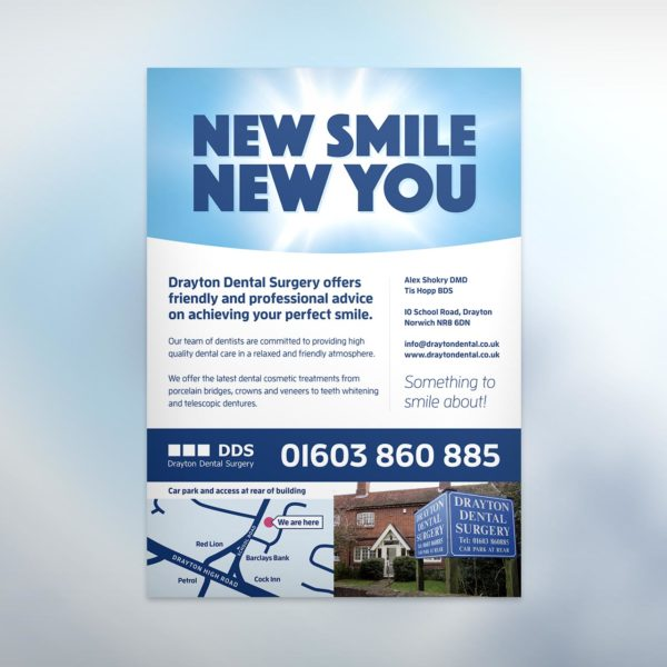 Dental Surgery Flyer Design