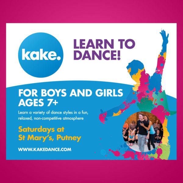 Kake Dance Class Banner - Kevin Clifton, Karen Clifton