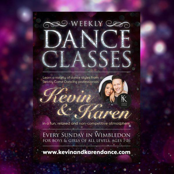Dance Class Flyer Design